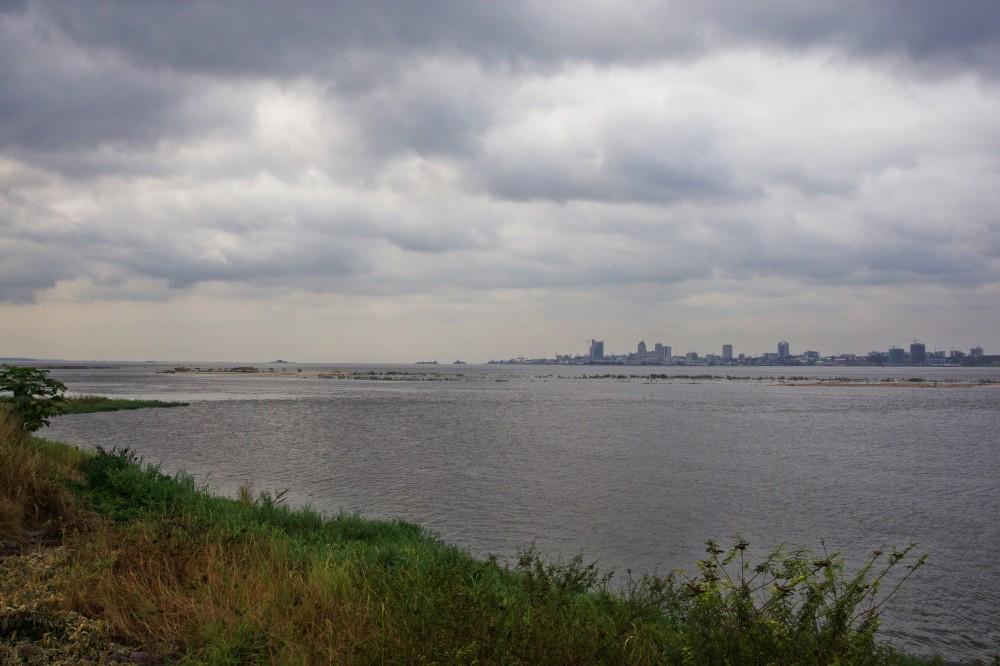 cloudy kinshasa river